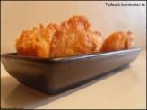 Petites tuiles à la mimolette